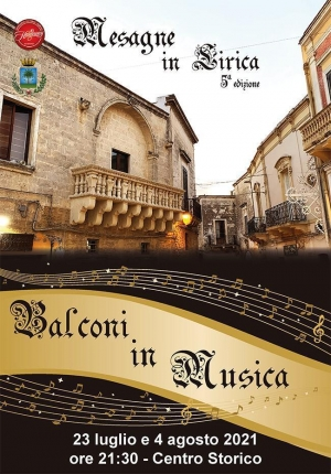 """""""Balconi in Musica"""", a Mesagne"""