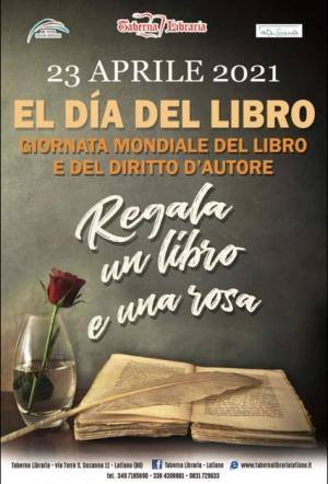 """Taberna Libraria Latiano, dal 23 aprile, per la """"Giornata Mondiale del libro e del diritto d'autore"""" l'iniziativa itinerante"""