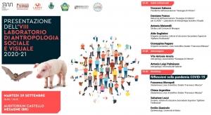 29 settembre. Presentazione dell'VIII Laboratorio di Antropologia Sociale e Visuale 2020-21