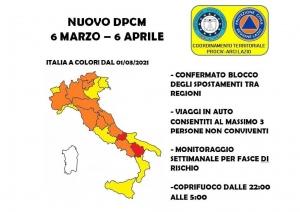 Nuovo dpcm 6 marzo - 6 aprile 2021